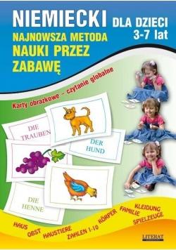 Niemiecki dla dzieci 3-7 lat. Karty obrazkowe