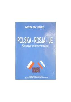 Polska - Rosja - UE. Relacje ekonomiczne