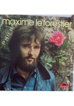 Maxime le Forestier, płyta winylowa