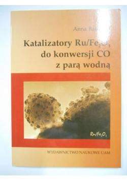 Katalizatory Ru/Fe2O3 do konwersji CO z parą wodną