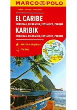 Mapa Marco Polo - Karaiby 1:2 500 000 w.2017