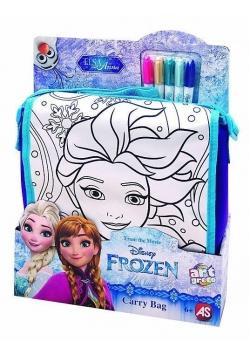 Torba do malowania z akcesoriami M Frozen