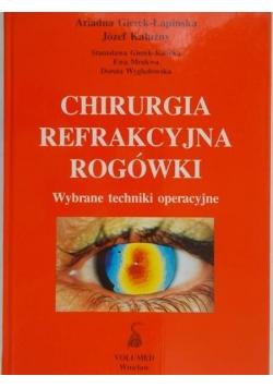 Chirurgia refrakcyjna rogówki