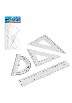 Zestaw geometryczny 4 elementy 20cm