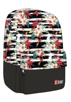 Plecak 1-komorowy Tropical Stripes
