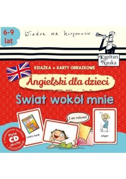 Angielski dla dzieci Świat wokół mnie + karty obrazkowe