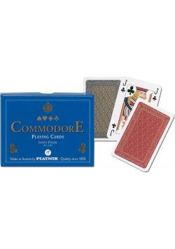 "Karty standard ""Komandor (niebieski)"" PIATNIK"
