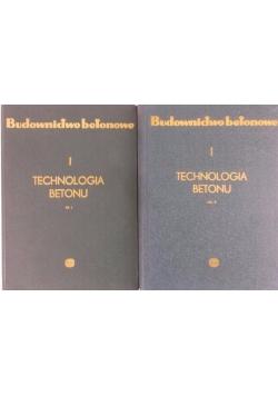 Technologia Betonu, cz. 1-2