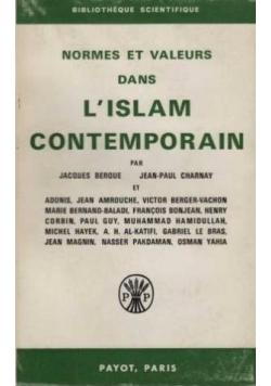 L islam contemporain