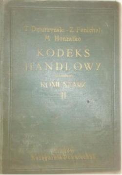Kodeks handlowy. Komentarz,Tom II, 1936 r.