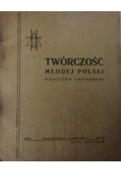Twórczość Młodej Polski,nr.2-3, 1923r.