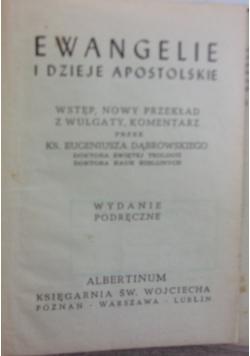 Ewangelie i dzieje apostolskie, 1950 r.