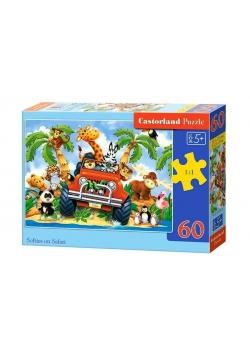 Puzzle 60 Softies on Safari CASTOR