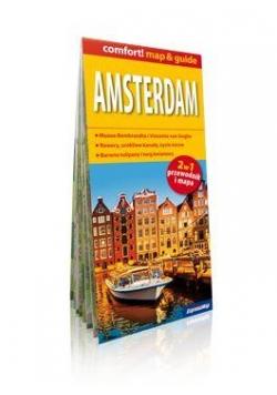 Comfort!map&guide Amsterdam 2w1 przewodnik+mapa
