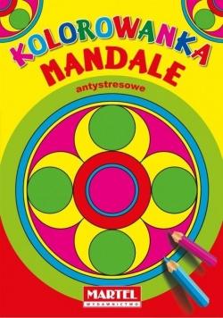 Kolorowanka Mandale Antystresowe. Koła