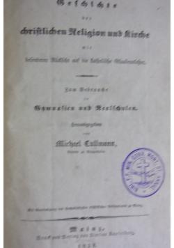 Geschichte der christlichen Religion und Kirche, 1838 r.