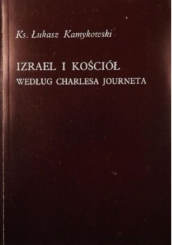 Izrael i Kościół według Charlesa Journeta