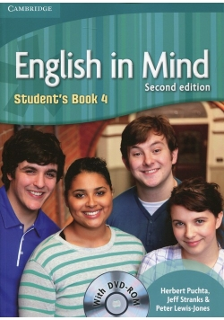 English in Mind 4 Student's Book + DVD