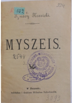Myszeis, 1900 r.