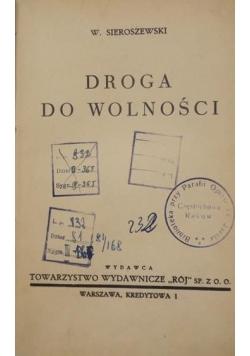 Droga do wolności, 1939 r.