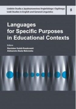 Languages for Specific Purposes in Educational...