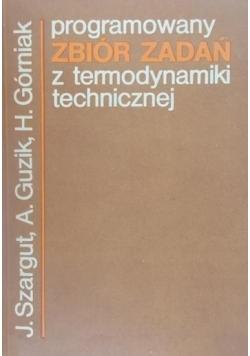 Programowany zbiór zadań z termodynamiki technicznej