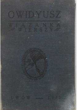 Owidyusz - wiązanka wierszy, 1927 r.
