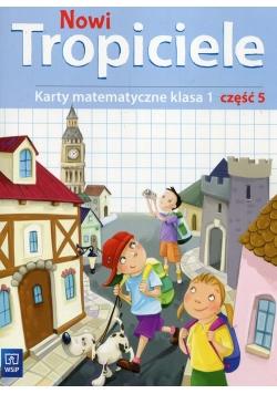 Nowi Tropiciele 1 Karty matematyczne Część 5
