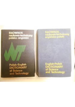 Słownik naukowo-techniczny polsko-angielski, angielsko-polski