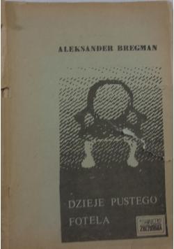 Dzieje pustego fotela,1948r.
