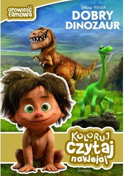Opowieść filmowa. Dobry dinozaur. Koloruj,czytaj..