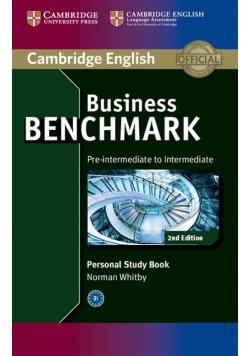 Business Benchmark Pre-intermediate to Intermediate Personal Study Book
