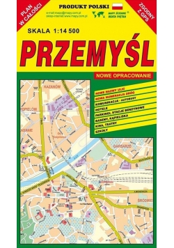 Przemyśl 1:14 500 plan miasta PIĘTKA