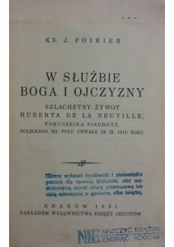 W służbie Boga i ojczyzny 1931 r.