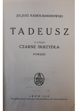Tadeusz z cyklu czarne skrzydła, 1929 r.
