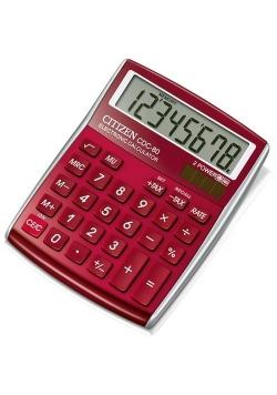 Kalkulator biurowy Citizen CDC-80RD 8-cyfrowy czerwony