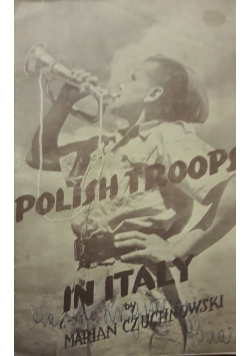 The polish troops in Italy, 1944r.