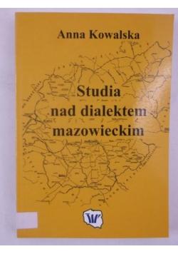 Studia nad dialektem mazowieckim
