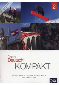 Das ist Deutsch! Kompakt 2 Podręcznik + CD