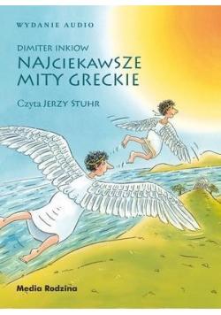 Najciekawsze mity greckie CD MP3
