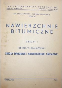Nawierzchnie bitumiczne, 1948r.