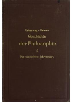 Geschichte der Philosophie 4, 1906 r.