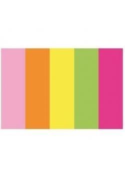 Zakładki indeksujące 15x50mm papierowe neon D.RECT