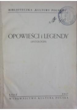 Opowieści i legendy. Antologia, 1947 r.