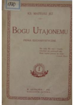Bogu utajonemu, 1923 r.