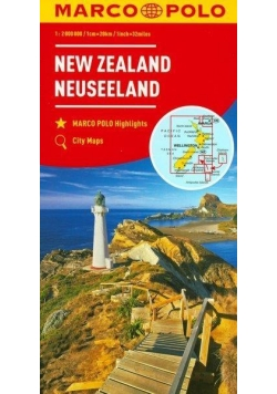 Mapa Marco Polo - Nowa Zelandia 1:2 000 000 w.2017
