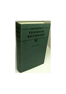 Technical dictionary chamber's, 1947 r.