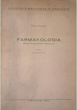 Farmakologia (skrypt dla studentów medycyny)