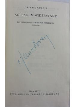 Aufbau im Widerstand, 1947 r.