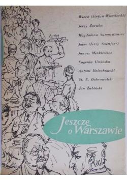 Jeszcze o Warszawie